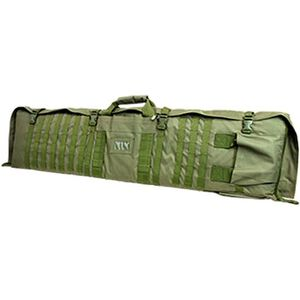 "NcSTAR Rifle Case/Shooting Mat 48"" Padded Synthetic Fabric Urban Green"