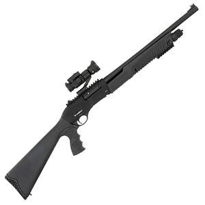 "IFC 12GPA3 12 Gauge Pump Action Shotgun 20"" Barrel 3"" Chamber 4 Rounds F/O Front Sight Vortex Red/Green Dot Synthetic Pistol Grip Stock Black Finish"