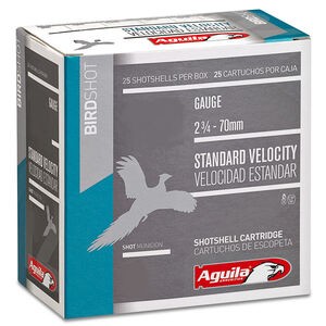 "Aguila Birdshot 16 ga 2-3/4"" #6 Shot 1oz 250 Round Case"