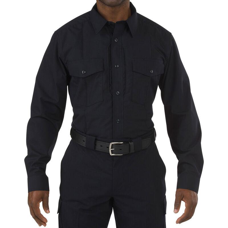 5.11 Tactical Stryke Class B PDU Long Sleeve Shirt Large/Regular Midnight Navy 72074750LR
