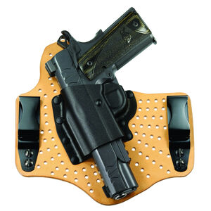 Galco KingTuk Air GLOCK 17/19/26/22/23/27/31/32/33 Tuck-able IWB Holster Left Hand Draw Leather/Kydex Tan