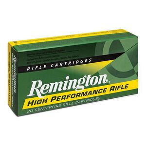 Remington High Performance Rifle 6.5 Creedmoor Ammunition 20 Rounds 140 Grain Boat Tail Hollow Point
