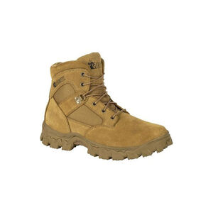 """Rocky International Alpha Force 8"""" Duty Boot Size 10 Coyote Brown"""