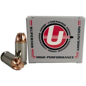 Underwood Ammo 9x18mm Ammunition 95 Grain Lead Free Lehigh Defense Xtreme Penetrator Projectile 1050 fps