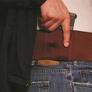 Gould & Goodrich Body Guard Belly Band Holster Tan