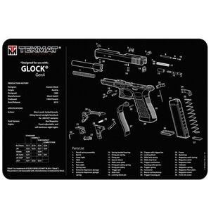 """TekMat Armorer's Bench Mat For GLOCK Gen 4 11""""x17"""" 17-GLOCK-G4"""