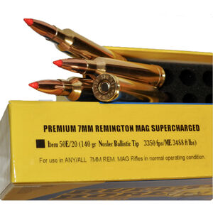 Buffalo Bore 7mm Remington Magnum Ammunition 20 Rounds NBT 140 Grains