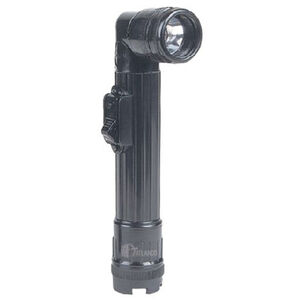 Tru-Spec Field Gear Mini Angled Flashlight Compact Durable AA Batteries Imported Black 4633000