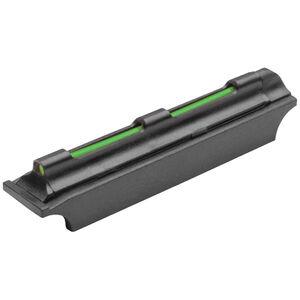 TRUGLO Magnum Glo-Dot Xtreme Green Fiber Optic Shotgun Front Sight Fits 6mm Rib Steel Black