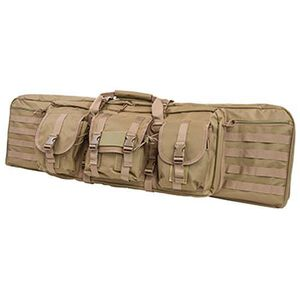 "Vism Double Carbine Soft Rifle Case 42"" PVC Tan Finish CVDC2946T-42"