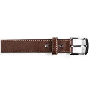 Magpul Tejas Gun Belt Leather/Polymer Chrome Buckle Size 42 Chocolate MAG73321042