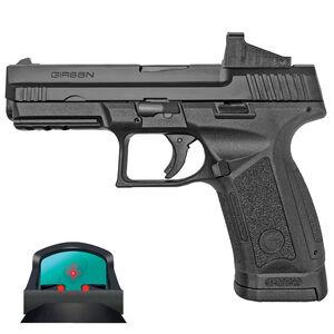 "EAA Girsan MC9 Standard TV 9mm Luger Semi Auto Pistol 4.2"" Barrel 17 Rounds EAA Far-Dot Optic Interchangeable Back Straps Polymer Frame Matte Black Finish"