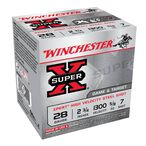"Winchester Super X Xpert 28 Gauge Shot Shells 250 Rounds 2 3/4"" #7 Steel 5/8oz WE28GT7"