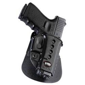 Fobus Evolution Holster SIG P320/P250 Subcompact Right Hand Roto-Paddle Attachment Polymer Black