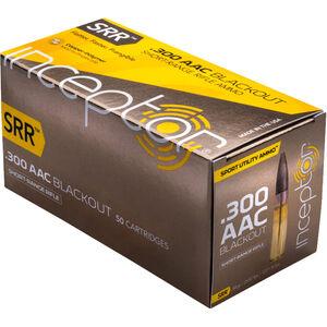 Polycase Inceptor SRR .300 Blackout Ammunition 500 Rounds Frangible 88 Grains 300SRRBLK-500