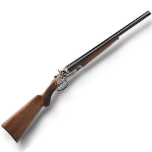 """Pedersoli Wyatt Earp Side by Side Shotgun 12 Gauge 20"""" Barrels 3"""" Chambers 2 Rounds Double Hammer Color Case Hardened Receiver Walnut Stock Blued S.707-012"""