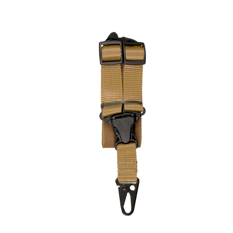 Outdoor Connection A-TAC Single Point Tactical Sling MIL SPEC Webbing Coyote Tan