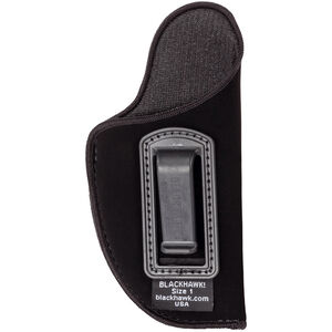 "BLACKHAWK! Inside the Pants Holster 4.5-5"" Large Autos Right Hand Nylon Black 73IP03BK-R"