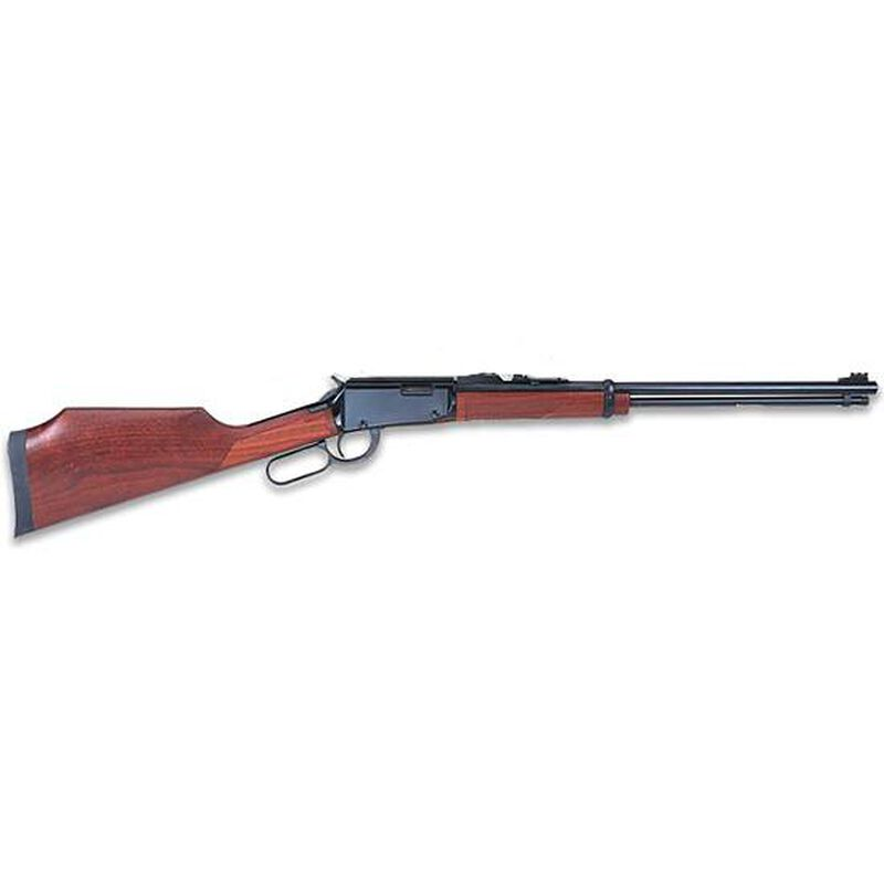 """Henry Repeating Arms Varmint Express Model H001V Lever Action Rimfire Rifle .17 HMR 20"""" Barrel 11 Rounds Checkered American Walnut Stock Blued Finish with Scope Mount"""