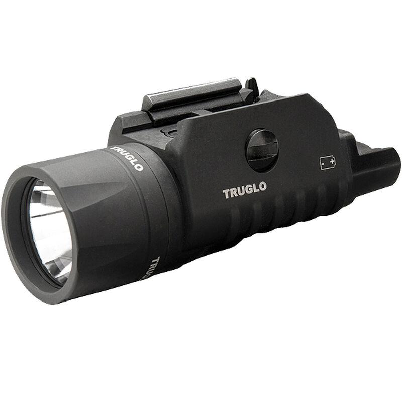 TRUGLO Tru-Point Laser Light Combo 200 Lumen Green Laser Adjustable Quick Detach Picatinny Polymer Black TG7650G