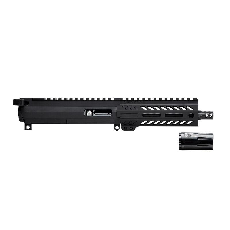 "Angstadt Arms AR-15 9mm Luger Complete Upper Assembly Suppressor Ready 6"" Barrel Free Float Hand Guard Matte Black"