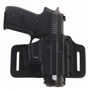 Galco Gunleather TacSlide S&W M&P 9/40 OWB Holster Right Hand Kydex and Leather Black TS472B