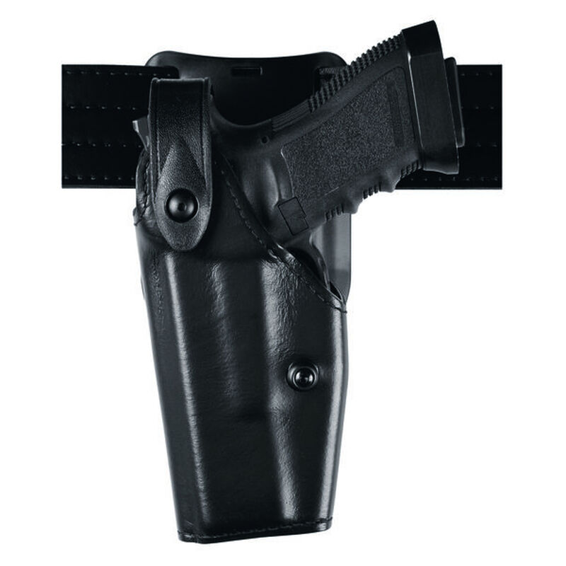 Safariland Model 6285 SLS Low-Ride Duty Belt Holster Left Hand Fits GLOCK 34/35 with ITI M3 Hardshell STX Tactical Black