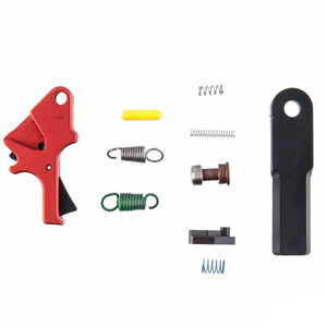 Apex Tactical Red Flat Faced Forward Set Sear/Trigger Kit Smith & Wesson M&P Pistols