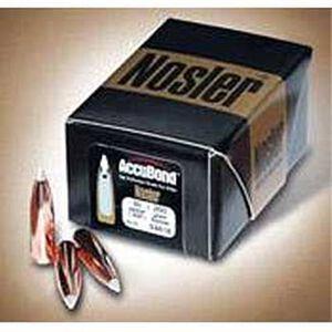 .358 Caliber 225 Grain Spitzer Nosler AccuBond Rifle Bullets 50 Bullets per Box