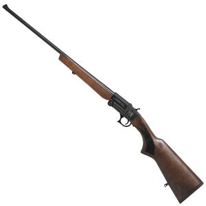"Iver Johnson IJ700 Youth Single Shot Break Action Shotgun .410 Bore 24"" Barrel 1 Round 3"" Chambers Walnut Stock Black Finish"