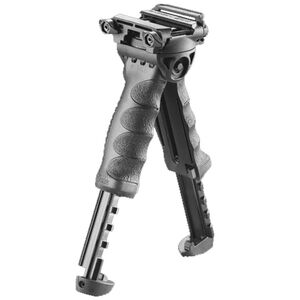 FAB Defense Rotating Tactical Foregrip and Bipod Picatinny Rail Mount Aluminum and Polymer Black
