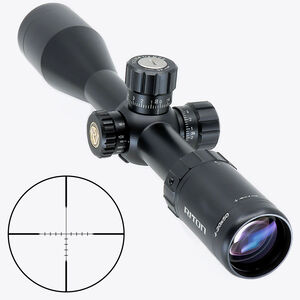 Riton RT-S Mod 7 4-20x50 Riflescope Non- Illuminated Mod 1 Hunting Reticle 30mm Tube .25 Inch Per Click 6061-T6 Aluminum Second Focal Plane Adjustable Parallax Matte Black