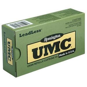 Remington UMC LeadLess .45 ACP Ammunition 50 Rounds 230 Grain Flat Nose Encased Base 835fps