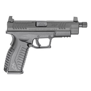 "Springfield Armory XD-M OSP 10mm Auto Semi Auto Pistol 4.5"" Threaded Barrel 15 Round Black"