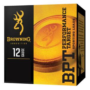 """Browning BPT 12 Gauge Ammunition 2-3/4"""" #8 Lead Shot 1-1/8 oz 1145 fps"""
