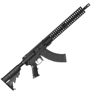 "CMMG Resolute 100 Series 7.62x39 AR Style Semi Auto Rifle 16"" Barrel 30 Rounds CMMG RML15 M-LOK Hand Guard A2 Pistol Grip/M4 Collapsible Stock Matte Black Finish"