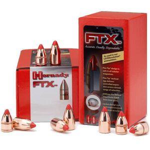 "Hornady .45 Caliber .452"" Diameter 200 FTX Cannelured Flat Base Polymer Flex Tip Bullet 50 Count 45215"