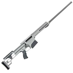 "Barrett Model 98B Fieldcraft Bolt Action Rifle .308 Winchester 18"" Barrel 10 Rounds M1913/Picatinny Rail Adjustable Cheek Piece Gray Cerakote 14815"