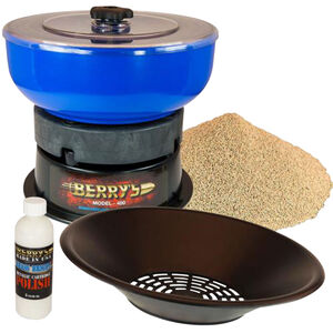 Berry's Manufacturing Media Separator Kit Vibrator Tumbler/Pan Sifter
