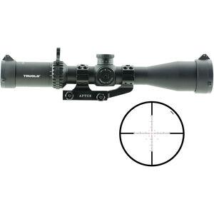 TRUGLO Eminus 3-9x42 Tactical Scope Illuminated TacPlex Reticle 30mm Tube 1/4 MOA Adjustment Fixed Focus Black Anodized