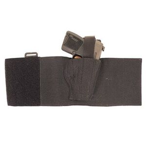 DeSantis 062 Glock 26, 27, 29, 30, Sig 250SC, S&W M&Pc, Walther PPS/PK380 Apache Ankle Holster Right Hand Nylon Black