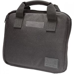 5.11 Tactical Single Pistol Case Padded Interior YKK Zippers 1050D Nylon Black