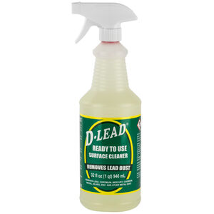 ESCA Tech Inc Surface Cleaning D-Lead All Purpose Cleaner Final Clean Pre-Mixed 32 Ounce Spray Bottle 12 Bottles Per Pack