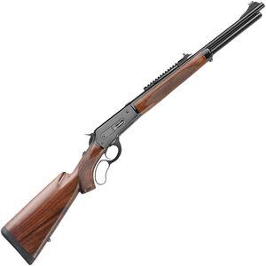 "Davide Pedersoli 86/71 Boarbuster Lever Action Rifle .444 Marlin 19"" Barrel 5 Rounds Integrated Optics Rail Walnut Stock Blued"
