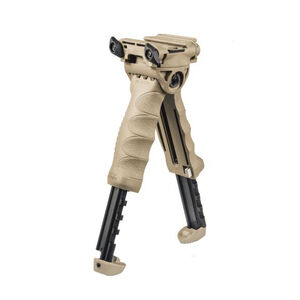 FAB Defense T-POD G2 Rotating Tactical Foregrip and Bipod FDE