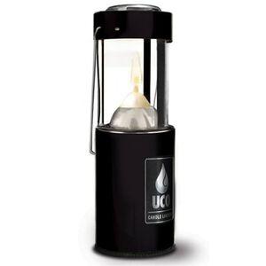 "UCO Gear Original Candle Lantern 6.25"" Anodized Black L-AN-STD-BLK"