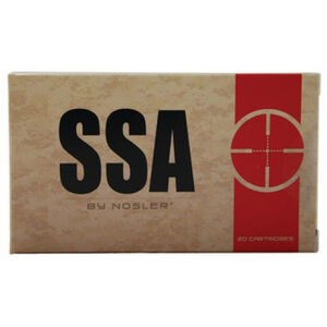 SSA 6.8mm Remington SPC Ammunition 20 Rounds 110 Grain Soft Point 2700fps
