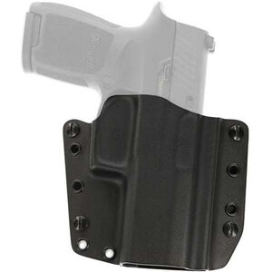 Galco Corvus Belt Holster GLOCK 17/22/31 Right Handed Kydex Black