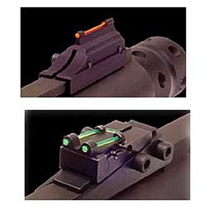 TRUGLO 6mm Pro-Series Magnum Gobble-Dot Fiber Optic Shotgun Sights Contrasting Colors TG944C