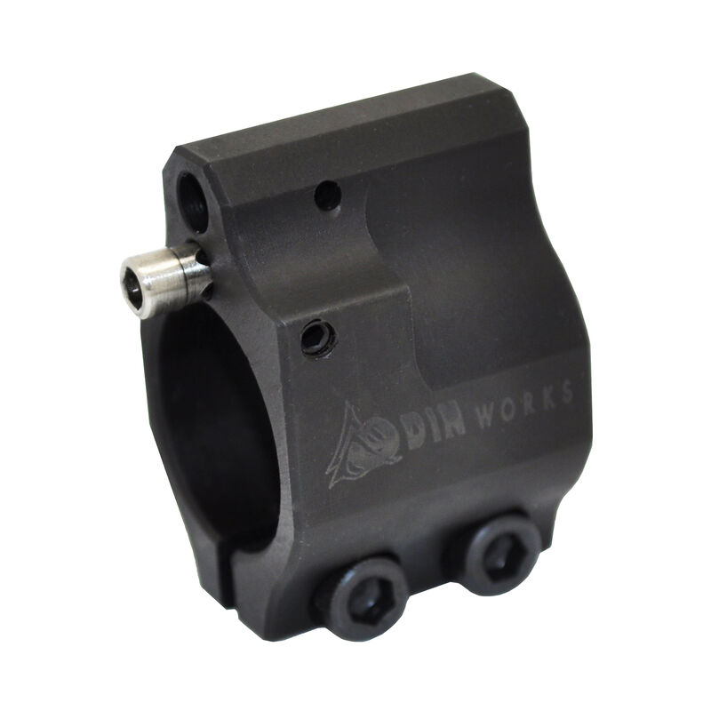 """ODIN Works AR-15 .750"""" Clamp-on Adjustable Low Profile Gas Block GBADJCLAMP"""